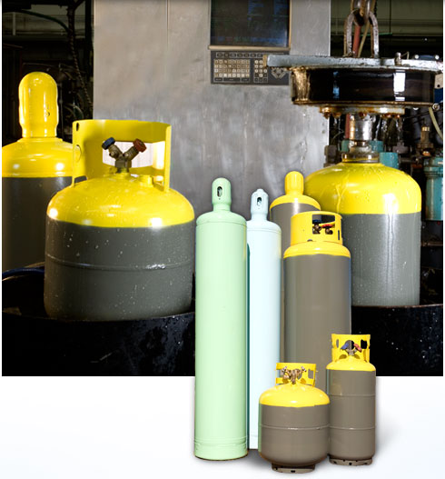 Cylinder Service for Gas, Propane, Refrigerant Industries   Sky